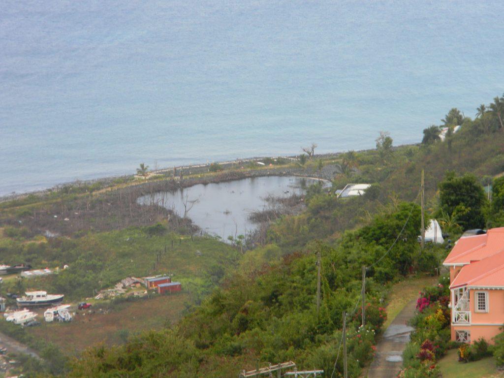 Cane Garden Bay Salt Pond