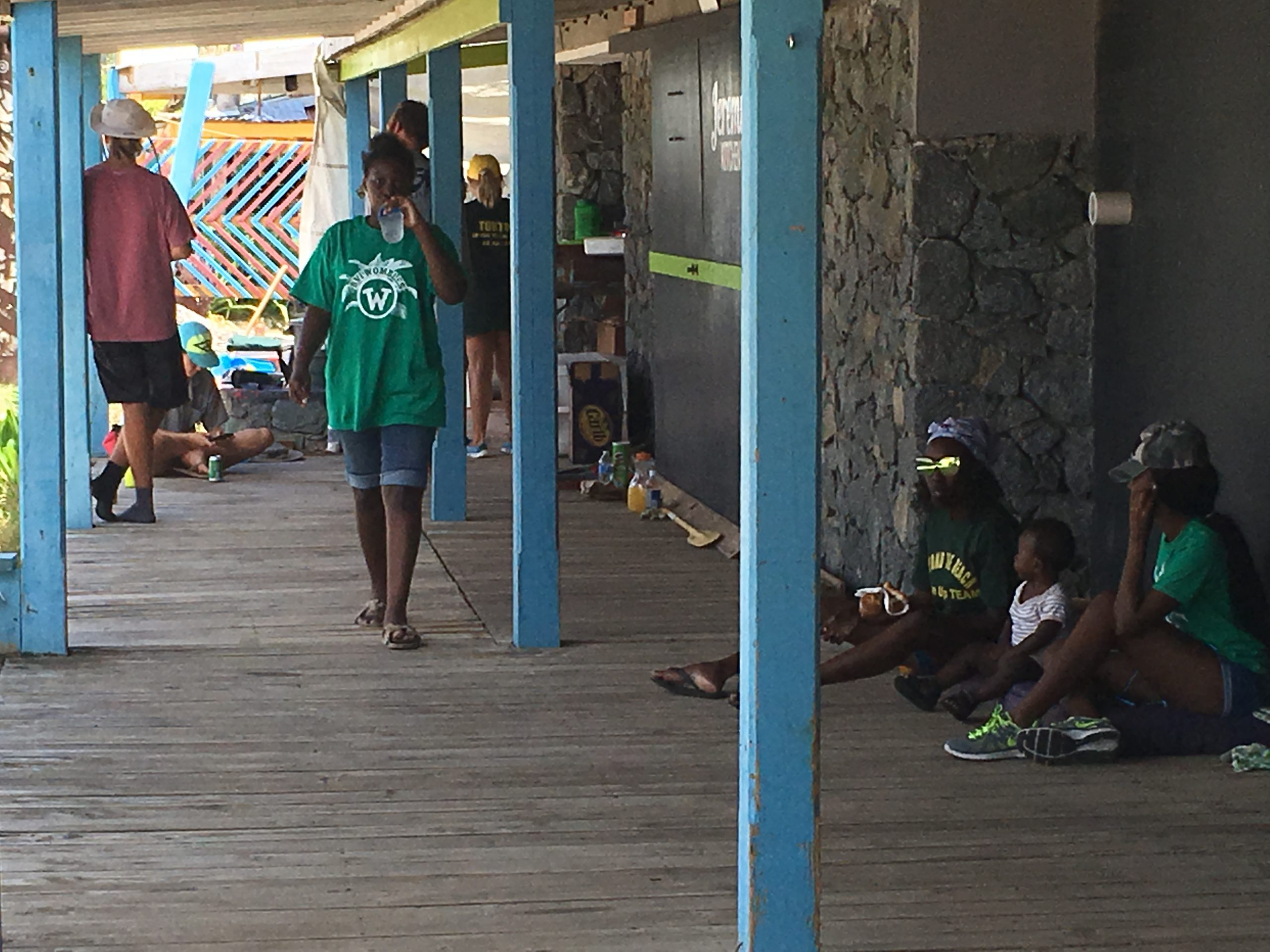 Community-led Trellis Bay Clean – May 2018