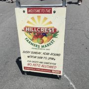 Supporting Black Owned Businesses on Sunday's in San Diego at Hillcrest Farmers Market
