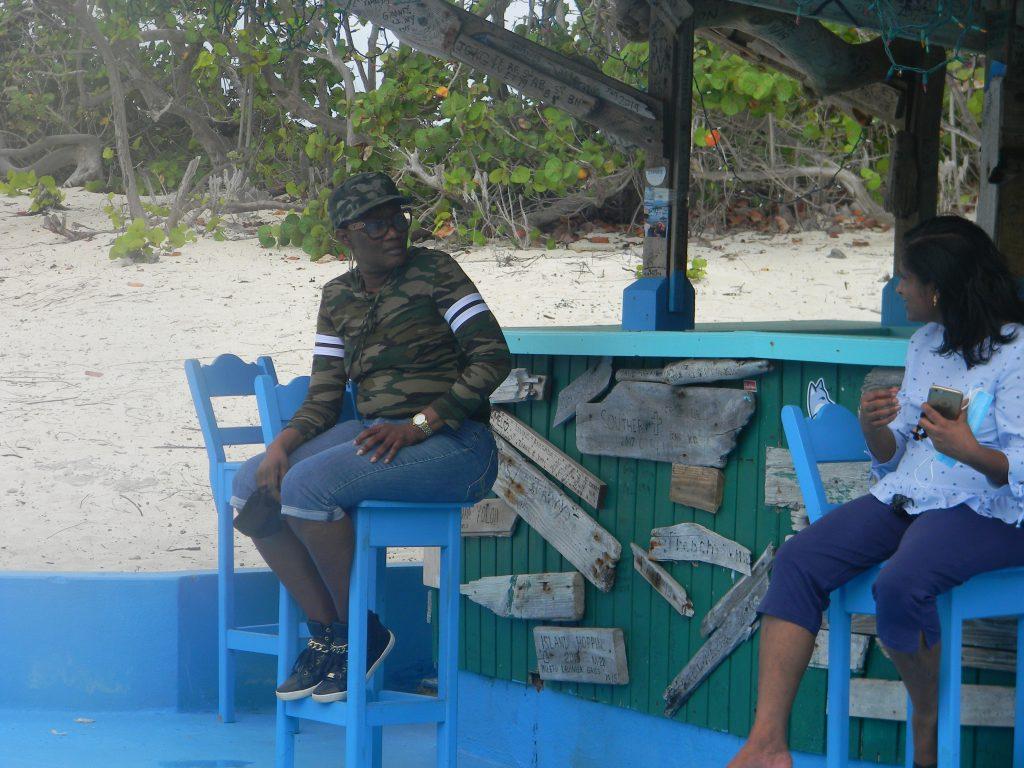 Volunteers in Anegada