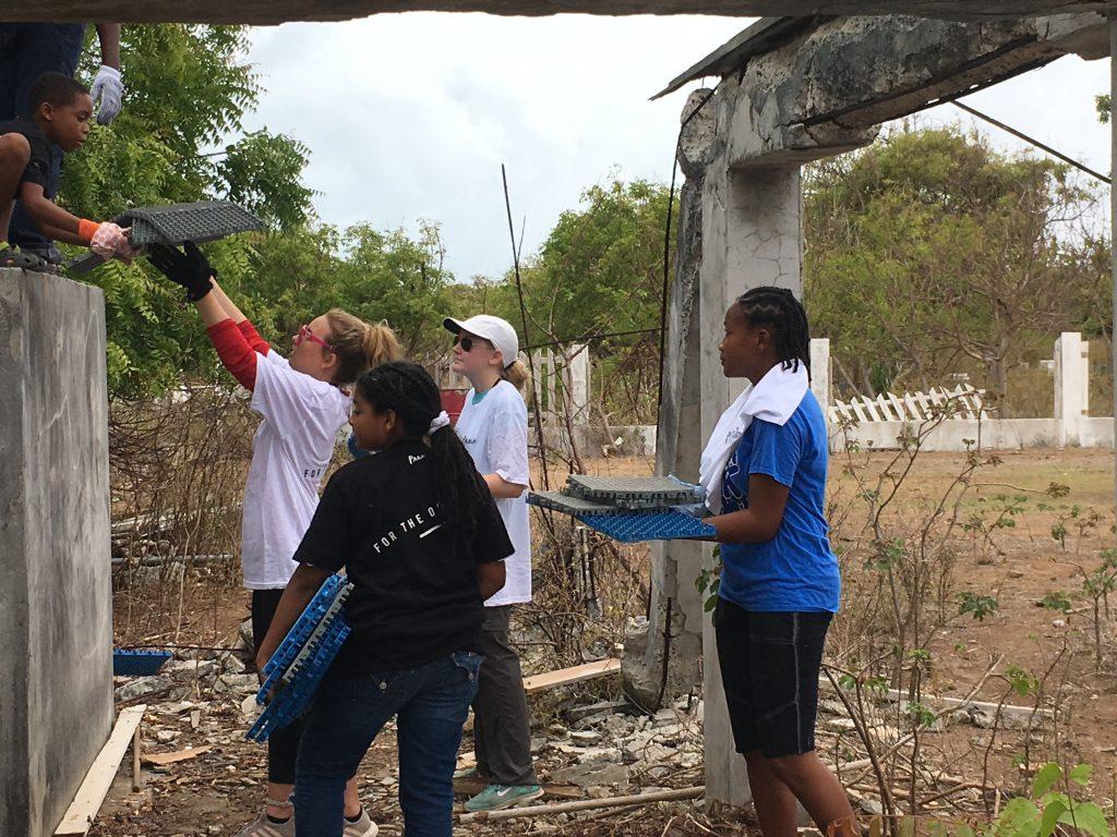 Volunteers Anegada 2018