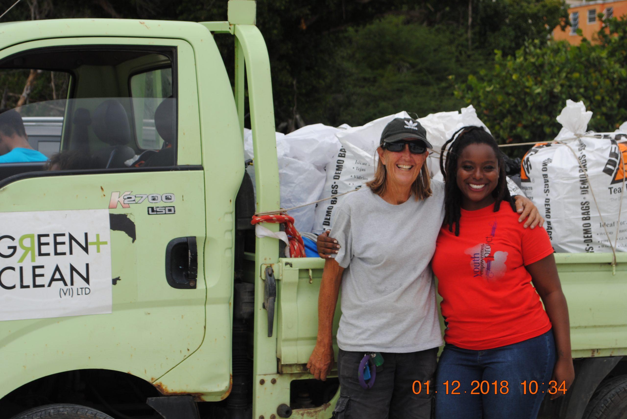 Brandywine Bay Clean with YEPBVI a Victory!