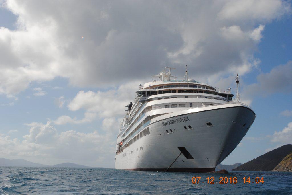 JVD, Seabourn Odyssey, Virgin Islands Cruise