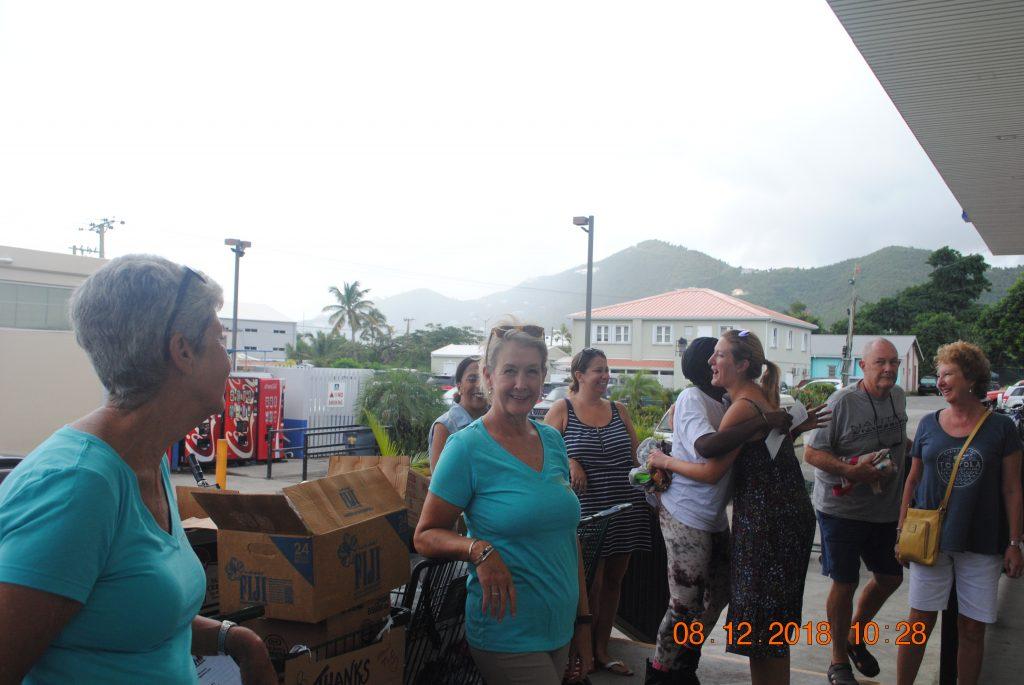 Riteway, Giving, Tortola's Ladies Club