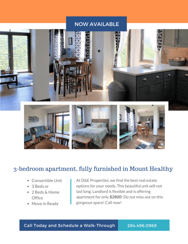 Mount Healthy Apartment